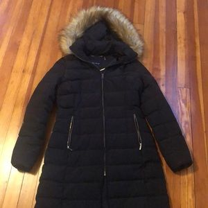Ivaka Trump black winter jacket